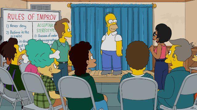 The Simpsons — s27e21 — Simprovised