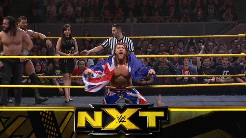WWE NXT — s11e01 — Main Event: Champion Shinsuke Nakamura vs. Samoa Joe for the NXT Title in a Steel Cage match