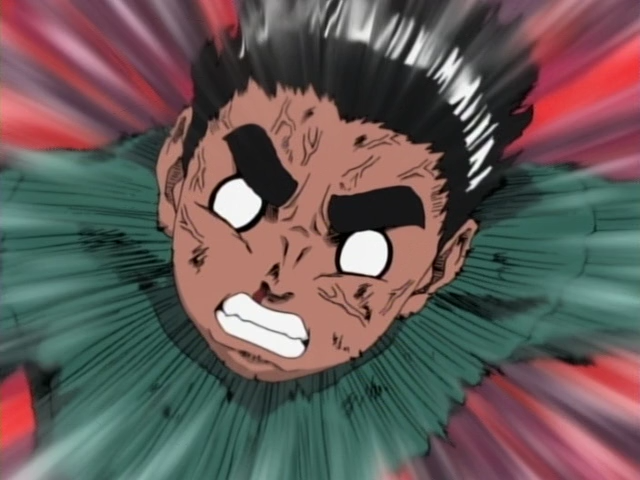 Naruto — s02e15 — Aah, Rock Lee! This is What a Man Should Be Like!!