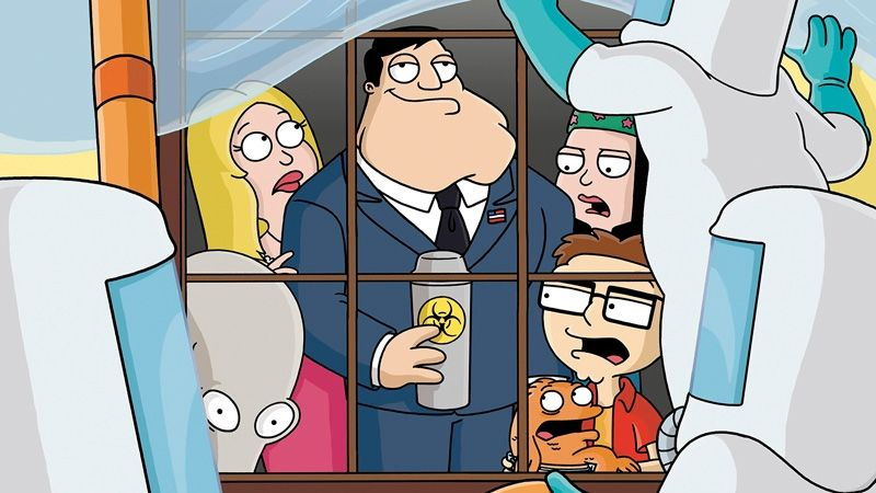 American Dad! — s01e02 — Threat Levels