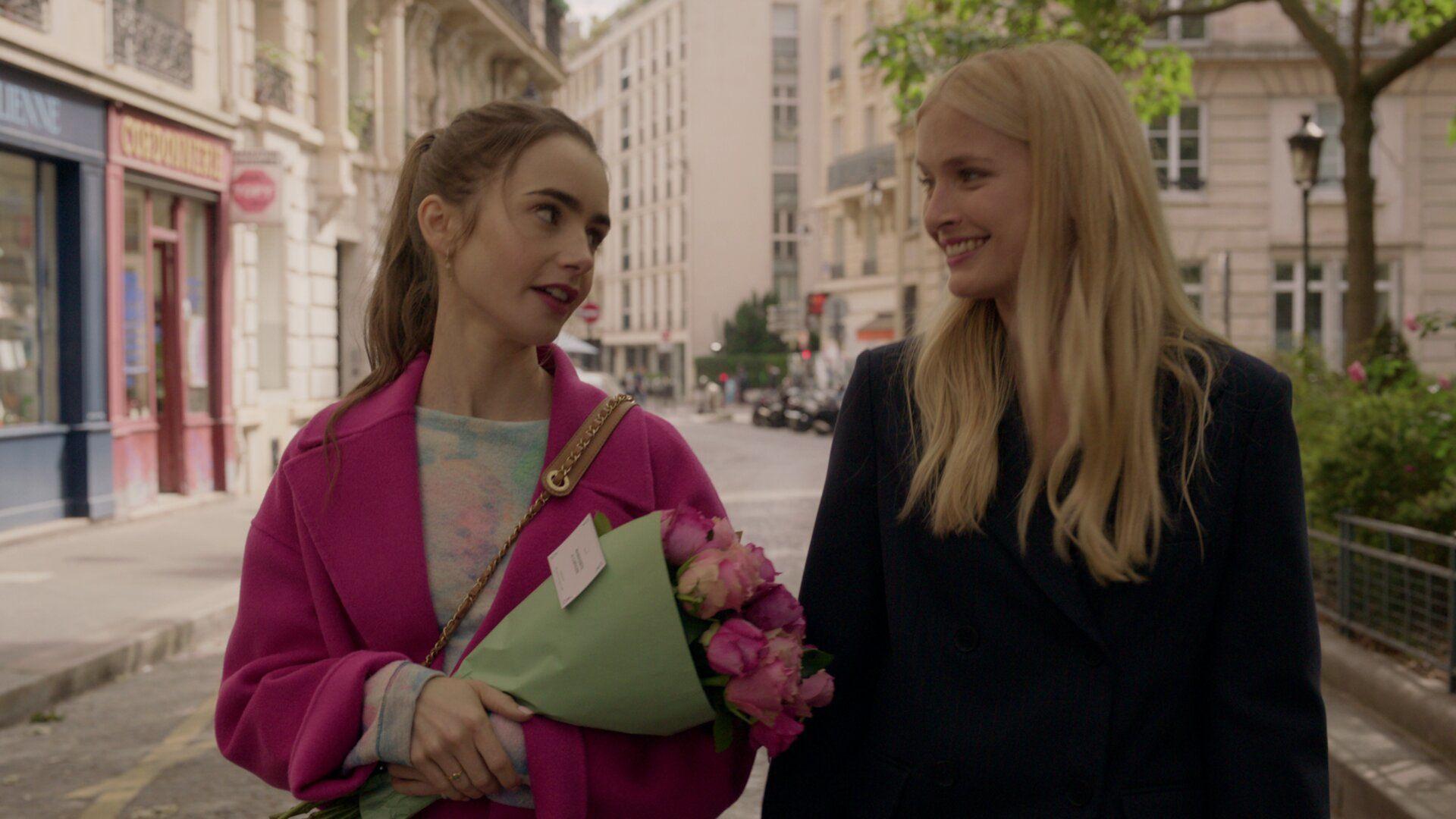 Emily in Paris — s01e04 — A Kiss Is Just a Kiss