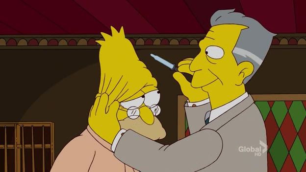 The Simpsons — s22e15 — The Scorpion's Tale