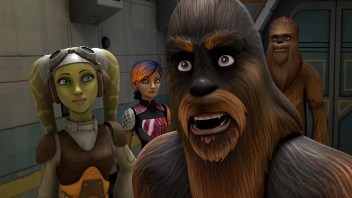 Звездные войны: Повстанцы — s01e02 — Spark of Rebellion part 2
