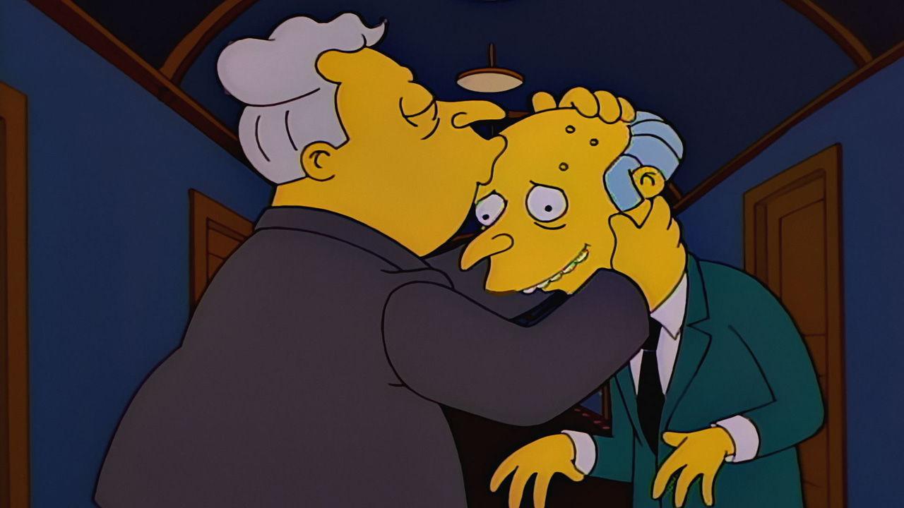 The Simpsons — s08e04 — Burns, Baby Burns