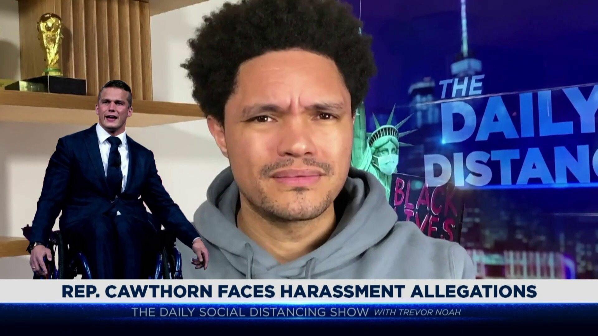 The Daily Show with Trevor Noah — s2021e25 — Rep. Adam Kinzinger, H.E.R.