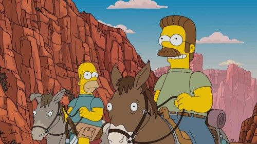 The Simpsons — s27e19 — Fland Canyon