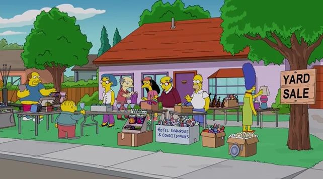 The Simpsons — s25e15 — The War of Art