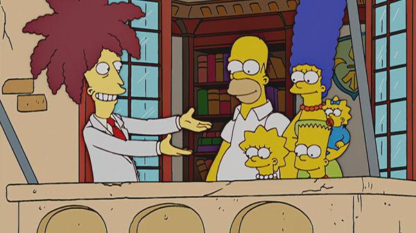 The Simpsons — s17e08 — The Italian Bob
