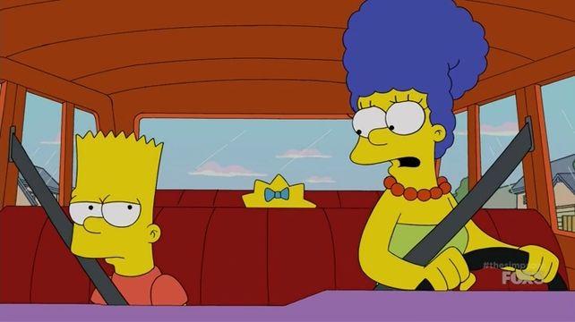 The Simpsons — s26e18 — Peeping Mom
