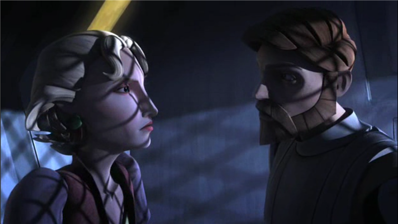 Star Wars: The Clone Wars — s02e12 — The Mandalore Plot