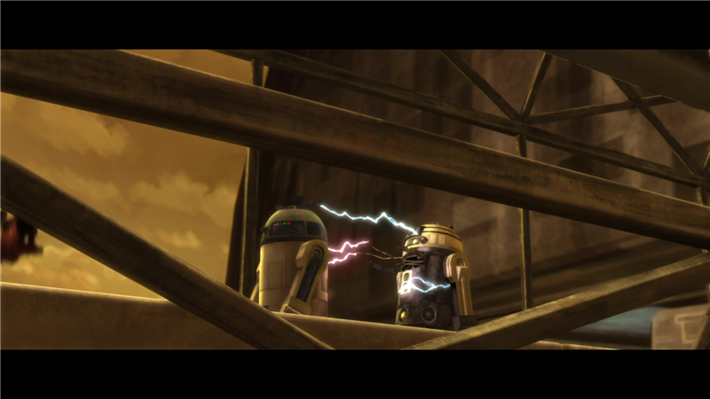 Star Wars: The Clone Wars — s01e07 — Duel of the Droids
