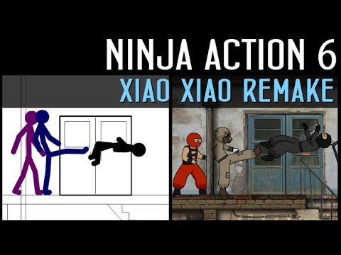 Animaction decks  — s04e08 — Ниндзя в деле 6: Xiao Xiao Remake