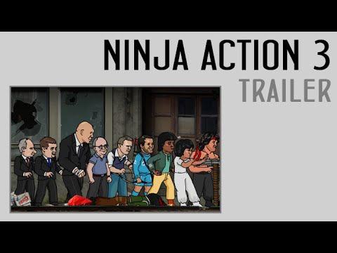 Animaction decks  — s03e02 — Ниндзя в деле 3. Трейлер