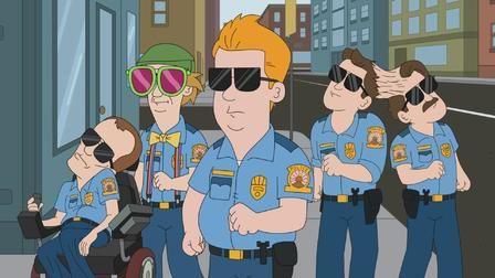 Полиция Парадайз — s01e08 — Task Force