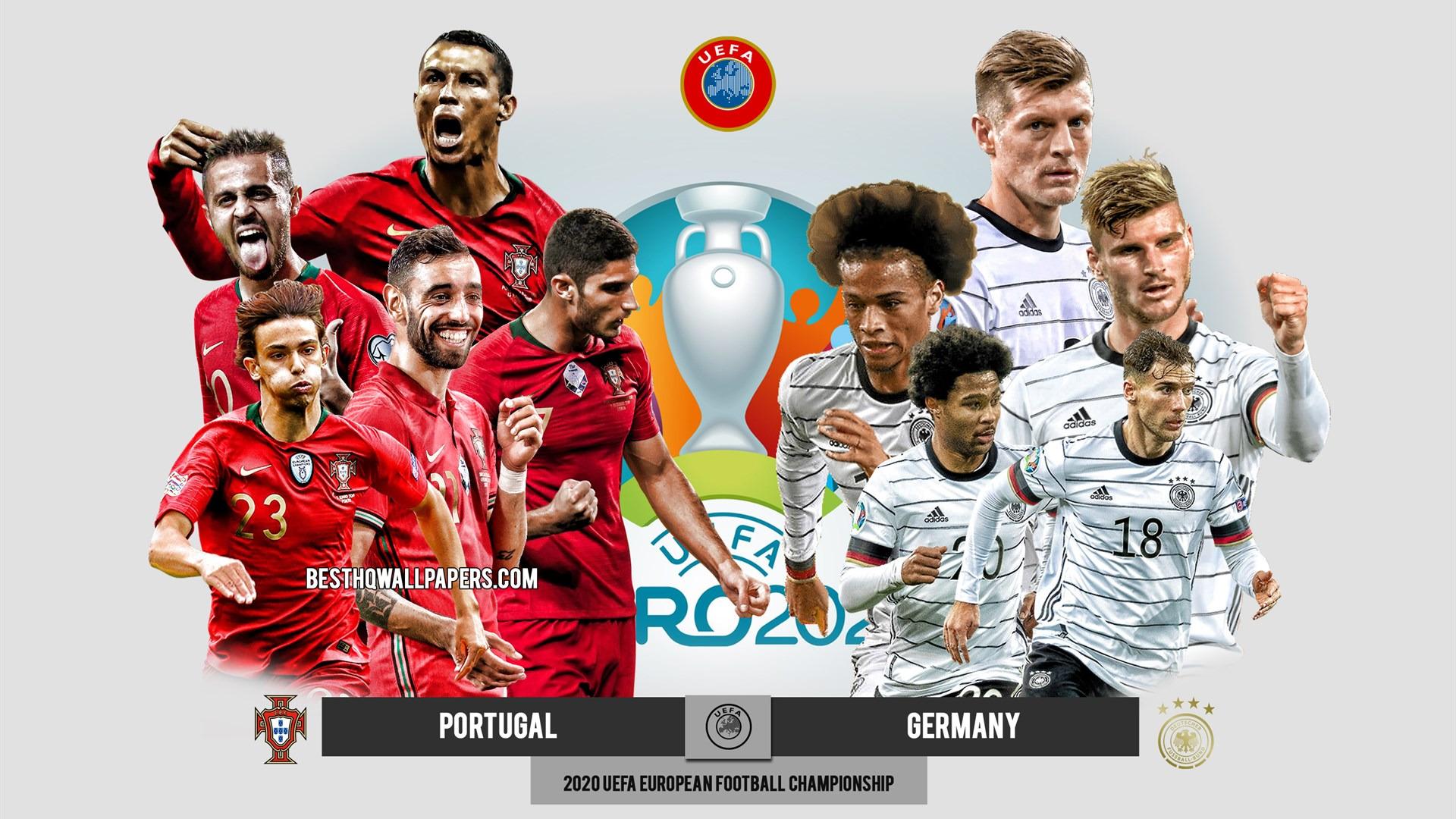 Чемпионат Европы по футболу 2020 — s01e23 — Группа F. 2-й тур: Португалия— Германия