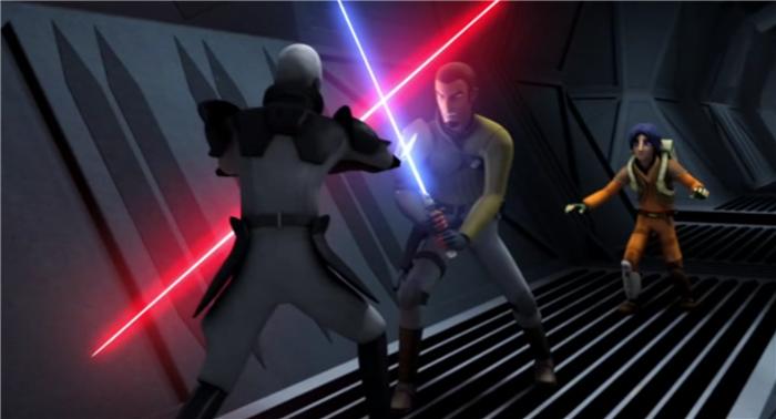 Звездные войны: Повстанцы — s01e05 — Rise of the Old Masters