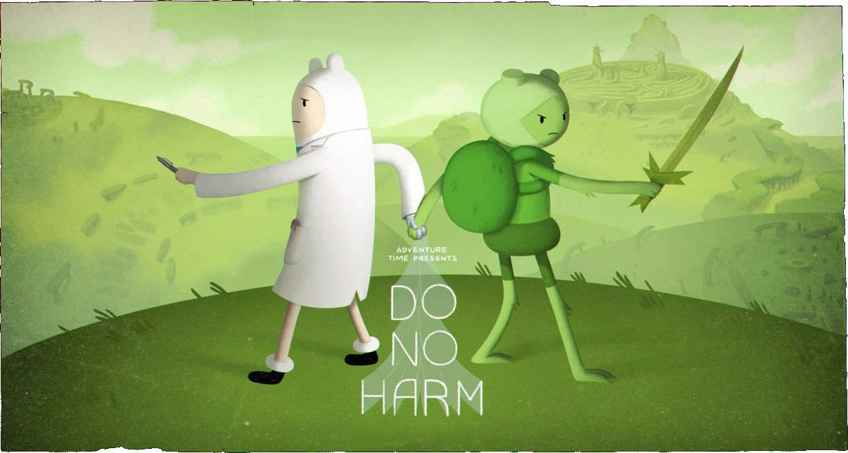 Время приключений — s08e02 — Do No Harm