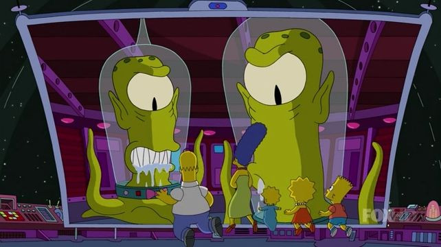 The Simpsons — s26e10 — The Man Who Came to Be Dinner
