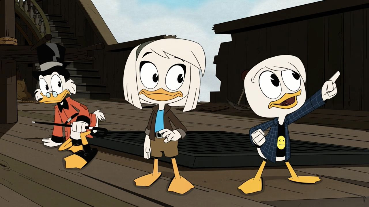 DuckTales — s03e16 — The First Adventure!