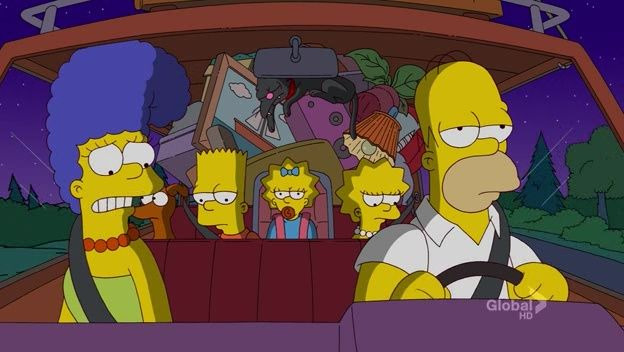 The Simpsons — s23e14 — At Long Last Leave
