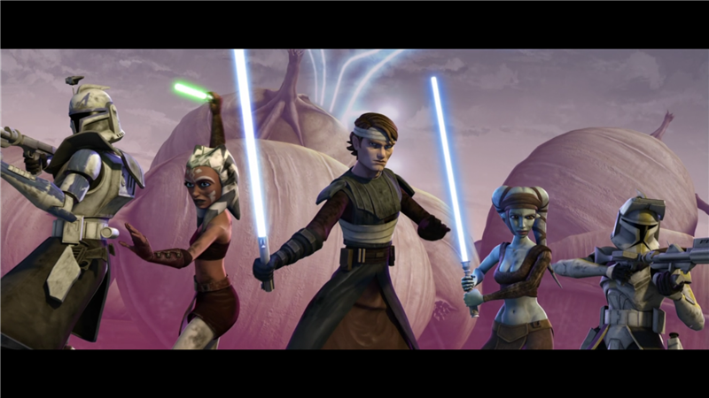 Star Wars: The Clone Wars — s01e14 — Defenders of Peace