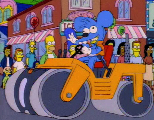 The Simpsons — s06e04 — Itchy & Scratchy Land