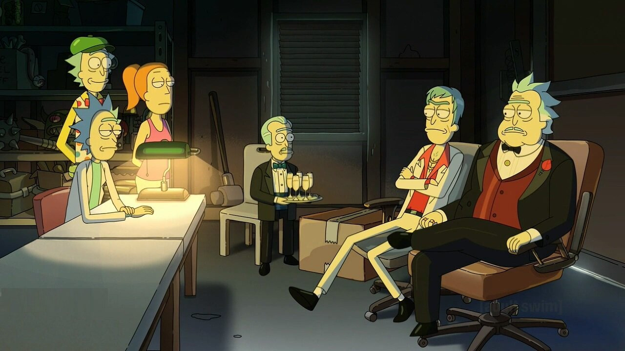 Rick and Morty — s05e07 — Gotron Jerrysis Rickvangelion