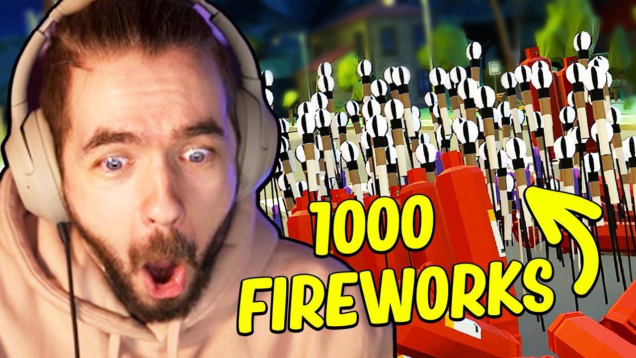 Jacksepticeye — s10e35 — I Set Off 1,000 Fireworks And Broke Reality in Fireworks Mania