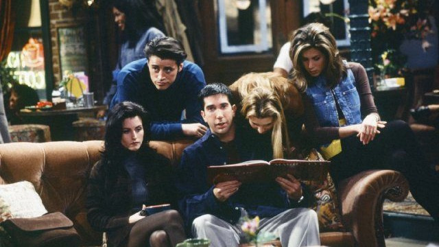 Друзья — s01e06 — The One With the Butt