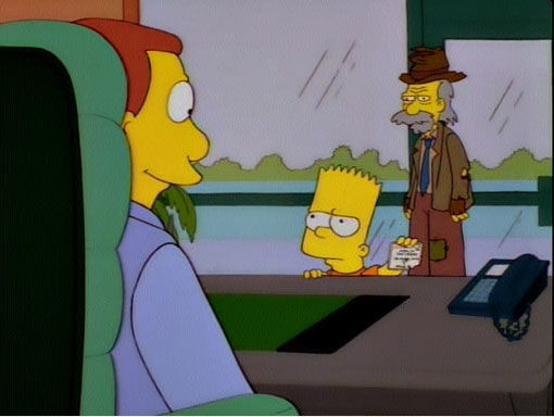 The Simpsons — s07e18 — The Day the Violence Died