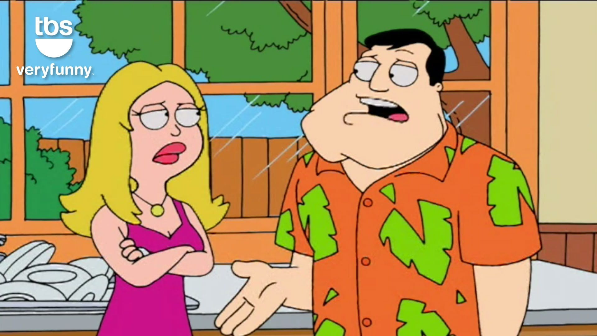 American Dad! — s01e06 — Homeland Insecurity