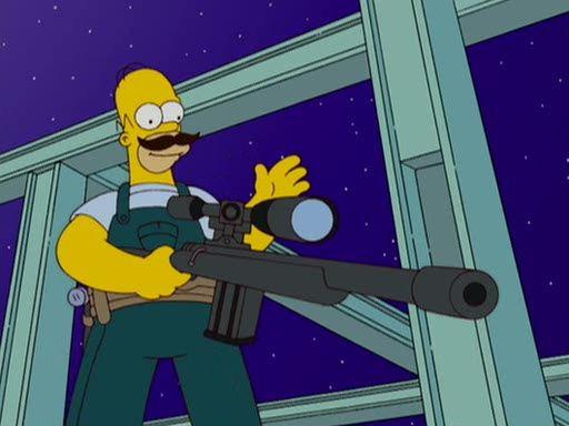 The Simpsons — s19e05 — Treehouse of Horror XVIII