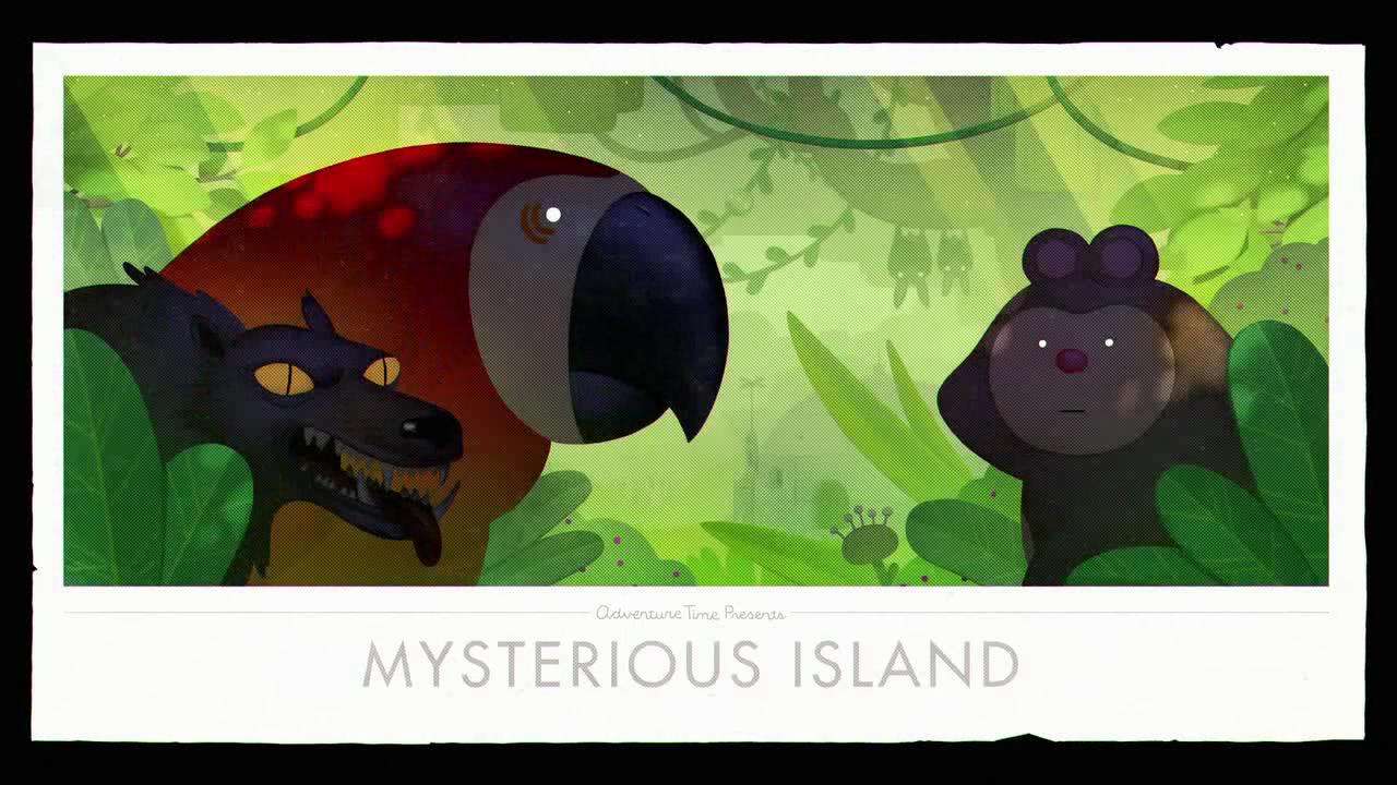 Время приключений — s08e09 — Islands Part 3: Mysterious Island