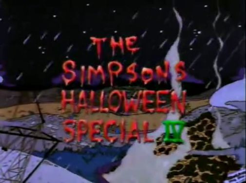 The Simpsons — s05e05 — Treehouse of Horror IV