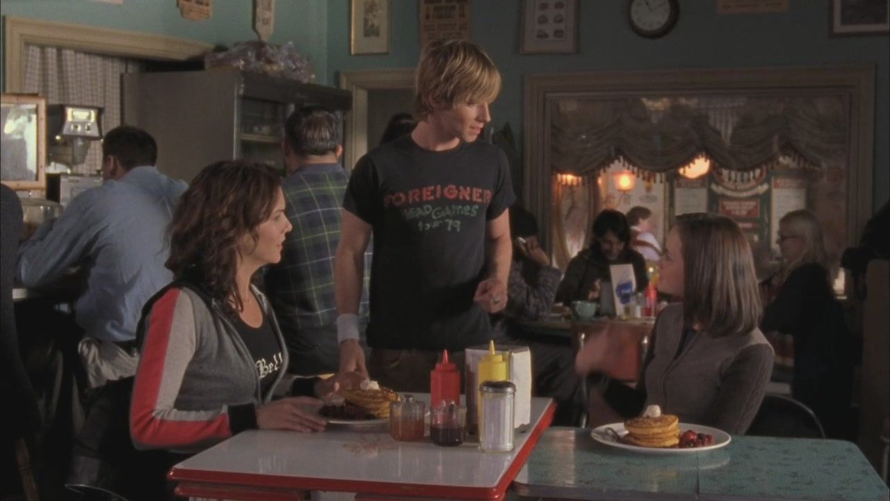 Gilmore Girls — s04e09 — Ted Koppel's Big Night Out
