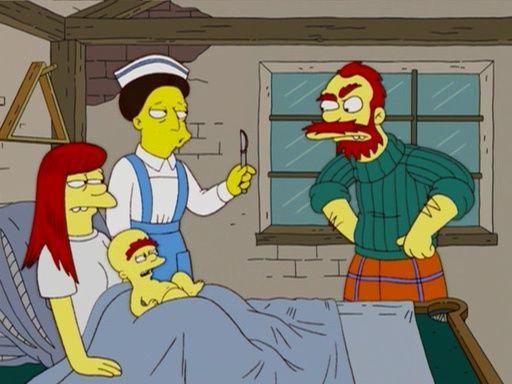 The Simpsons — s17e12 — My Fair Laddy