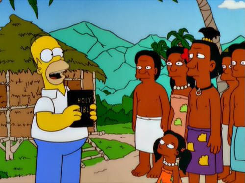 The Simpsons — s11e15 — Missionary Impossible