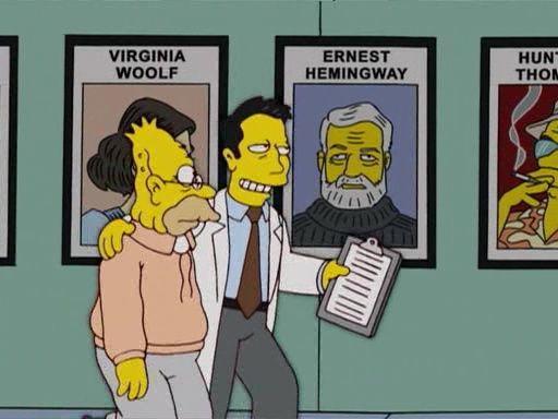 The Simpsons — s17e16 — Million Dollar Abie