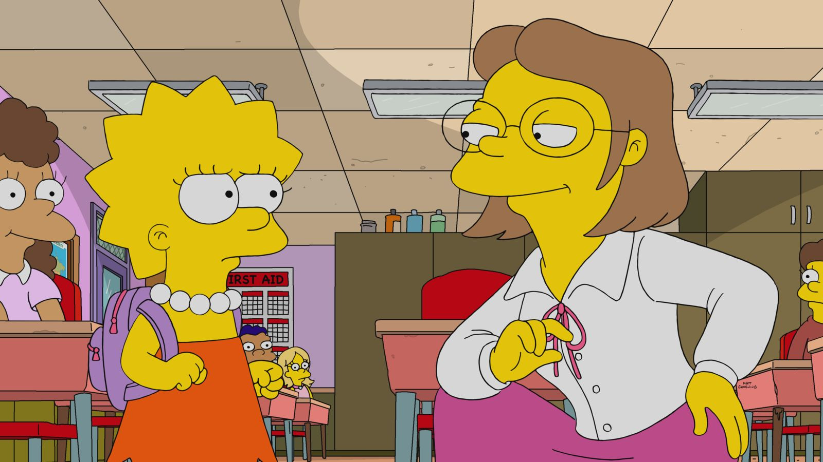 The Simpsons — s32e09 — Sorry Not Sorry