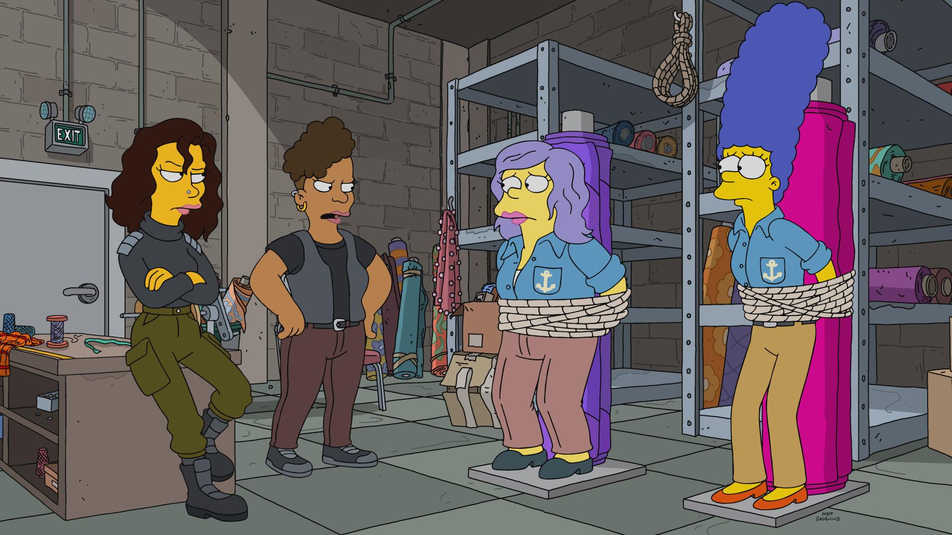 The Simpsons — s32e17 — Uncut Femmes