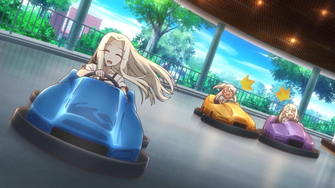Судьба: Девочка-волшебница Иллия — s03e04 — Theme Park Panic!