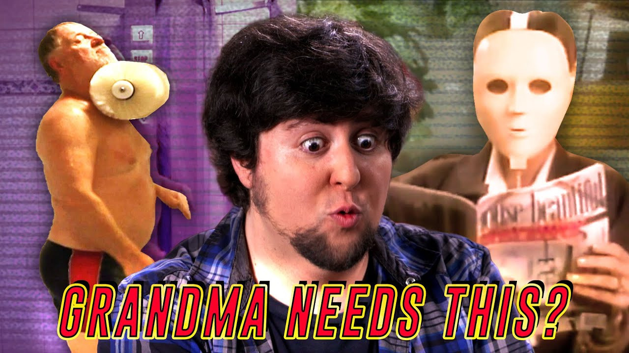 JonTron Show — s08e01 — Old People Got Weird Products
