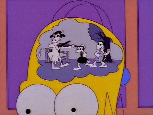 The Simpsons — s08e13 — Simpsoncalifragilisticexpiala (Annoyed Grunt) cious