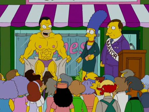 The Simpsons — s19e07 — Husbands and Knives