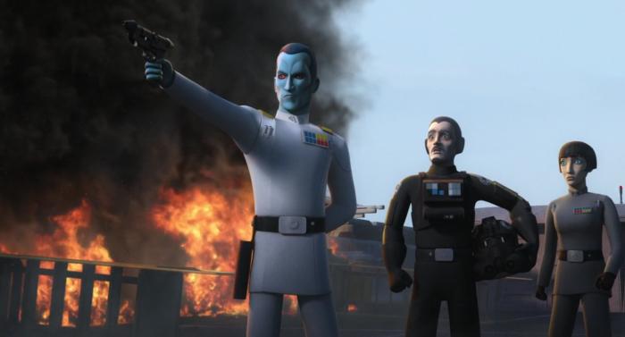 Звездные войны: Повстанцы — s04e06 — Flight of the Defender
