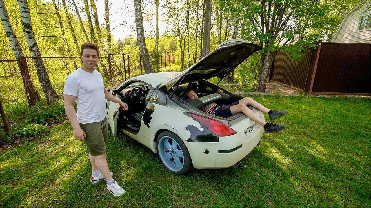 Джентльмены Синдиката — s04e92 — Вторая жизнь Nissan 350Z издеревни!