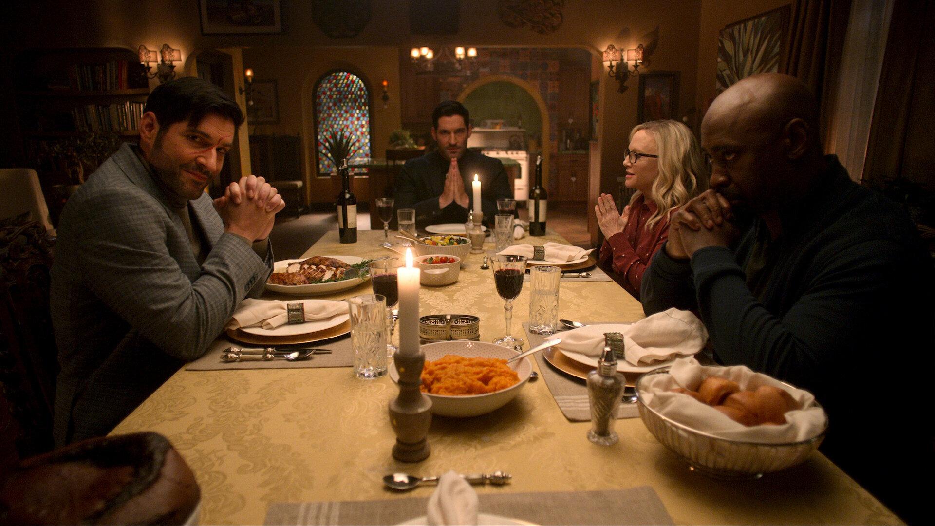 Люцифер — s05e09 — Family Dinner