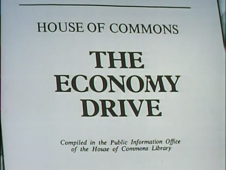 Да, господин министр — s01e03 — The Economy Drive
