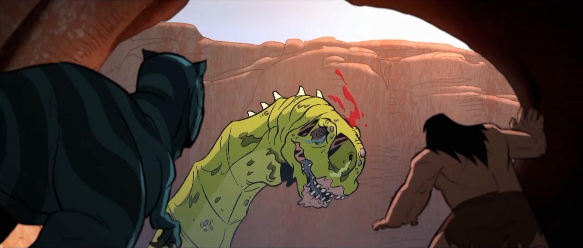 Первобытный — s01e06 — Plague of Madness