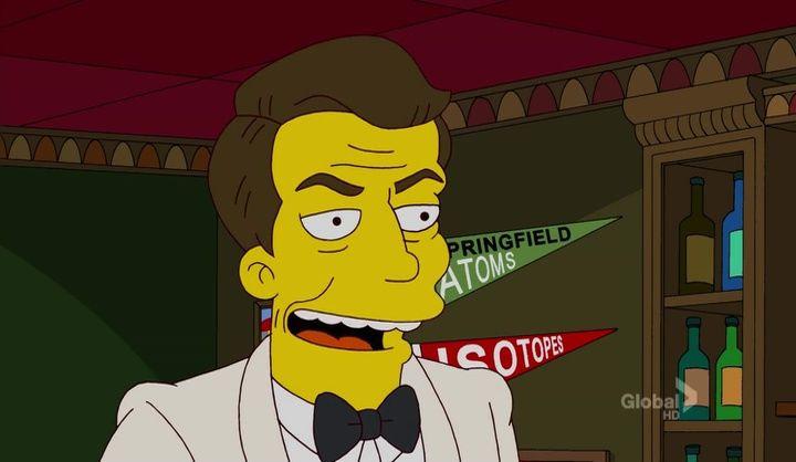 The Simpsons — s23e20 — The Spy Who Learned Me